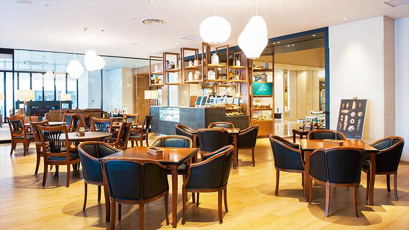 ブラッスリー リラの店内写真「イートインカフェ」